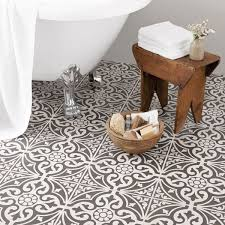 bathroom patterned floor tiles bathroom wonderful on within best