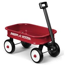 Radio Flyer Little Red Wagon: Amazon.co.uk: Toys & Games