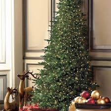 Slim Pre Lit Christmas Tree Canada by Flat Back Christmas Tree The Green Head