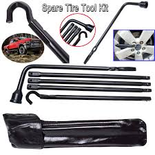 100 Truck Tools Spare Tire Lug Wrench For Jack Replace Set For Dodge Ram 1500