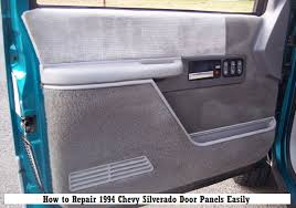 How to Repair 1994 Chevy Silverado Door Panels Easily – Interior