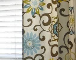 Waverly Fabric Curtain Panels by Waverly Drapes Etsy