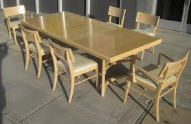 100 Birch Dining Chairs UHURU FURNITURE COLLECTIBLES SOLD 50s Set 150