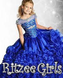 2015 sheer sleeve ball gown girls pageant dresses custom