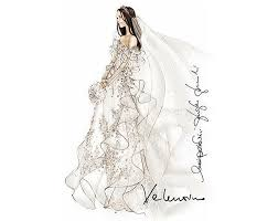If Its Hip Here 29 Famous Fashion Designers Sketch Wedding Gowns For Kate