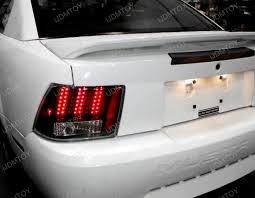 04 ford mustang black housing led lights
