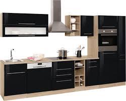 held möbel küchenzeile eton ohne e geräte breite 330 cm