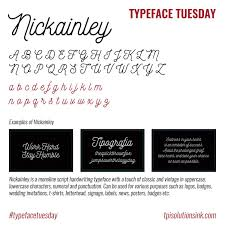 How About This Pretty Handwritten Font Nickainley Is Our Choice