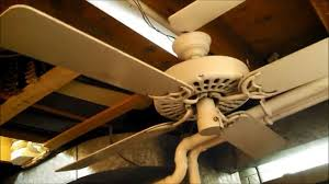 Ceiling Fan Balancing Kit by Balancing The Blades On A White Hunter Original Ceiling Fan Youtube
