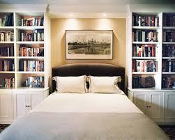 schöne bücherregale schlafzimmer eingebaut bücherregal