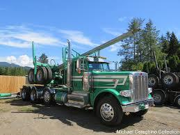 Zwald Transport Peterbilt 389 Log Truck, Truck# 42