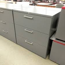 hon 4 drawer vertical fireproof file cabinet taupe used office