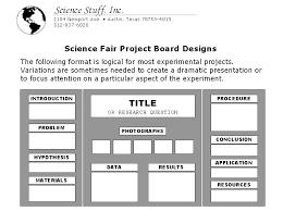 Science Stuff Fair Display Board Setup