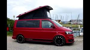 Skyline Roofs Crash Tested Pop Top For VW T5 T6 Transporter Camper Installation