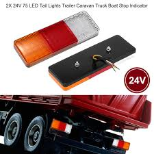 2X 12V/24V 75 LED Tail Lights Trailer Caravan Truck Boat Stop ... Dodge Ram 2500 3500 Anzo 861091 Led Cab Lights Truck Trailer Tractor Car Three Amazoncom Partsam 2x Redwhite 39 Stop Turn Tail Stud Chrome Accsories Trim For Cars Trucks Suvs Caridcom Westin Automotive Headache Racks Protectos Light Bars Magnum Strobe Lighting Vehicle Warning Pack Lights Accsories For Truck Mod Euro Simulator 2 Mods Jd Red Lens After Market Oled 0914 Recon Oval Phoenix P1 Clearance Marker Elite