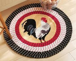 Amazon Rooster Kitchen Curtains by Kitchen Astounding Rooster Rugs For The Kitchen Rooster Rugs At