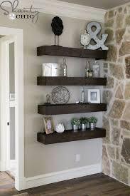 Best 25 Floating Shelf Decor Ideas On Pinterest Living Room In Shelves Plan 18