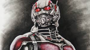 Drawing Ant Man 2015