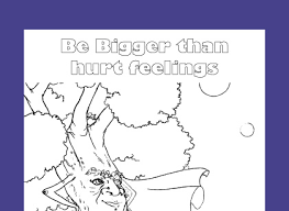 Free Printable Coloring Page For Character Education Teach Kids How To Respect Others