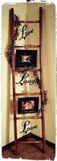 Primitive Decorating Ideas For Fireplace by 82 Best Primitive Ladder Ideas Images On Pinterest Primitive