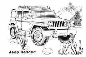 Cars Coloring In Pages
