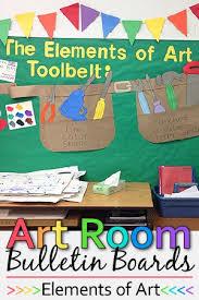 Bulletin Board Ideas Art Room Boards Elements Of