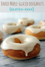 Dunkin Donuts Pumpkin Latte Gluten Free by Gluten Free Baked Maple Glazed Doughnuts