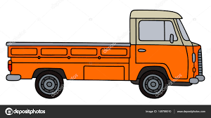 Retro Small Truck — Stock Vector © 2v #149786010