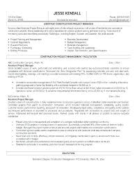 Program Manager Resume Sample For A Project Cover Letter