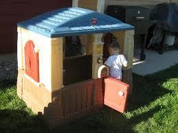 Step2 Happy Home Cottage U0026 by Step2 Neat U0026 Tidy Cottage Playhouse Blue Walmart Com