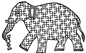 Elephant More Coloring Pages India