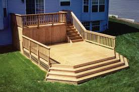 8 x 16 attached upper deck with 16 x 16 main deck at menards