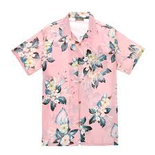 100 Coco Republic Sale Mens Hibiscus Bloom Shirt In Pink