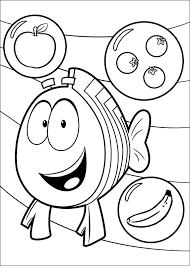 Bright Inspiration Bubble Guppies Coloring Book Spiderman Page