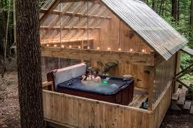 Gypsy Ohio Cabin Rentals Hot Tub P72 Fabulous Designing Home