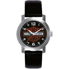 Harley Davidson Bath Decor by Harley Davidson By Bulova Men U0027s Watch 76a04 Leather Band