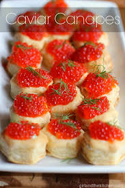 puff pastry canape ideas puff pastry caviar canapes and the kitchen