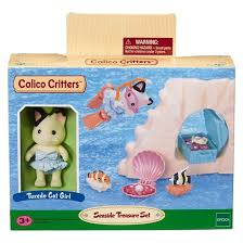 calico critters seaside treasure set target