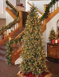 7ft Slim Led Christmas Tree by Slim Prelit Christmas Trees Boise