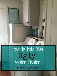 Immersion Water Heater For Bathtub by Best 25 Hide Water Heater Ideas On Pinterest Unfinished Cabinet