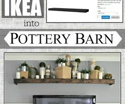 Sophisticated Remodelaholic Turn An Ikea Shelf Into A Pottery Barn ... Photo Ledges Roundup Family Wall Pottery And Barn Remodelaholic Turn An Ikea Shelf Into A Ledge Decorations Will Fit Any Decor In Your Home With Picture Distressed Wood Floating Shelf Architecture Best 25 Barn Shelves Ideas On Pinterest Kids Bedroom Amazing Wall Shelves Faamy Build Faux Mantel For Your House To Decorate Each Season Holman Wine Glass Display Storage 2 Michelecinfo Part 51 Decorating Plant Ledge Knockoff Rustic And