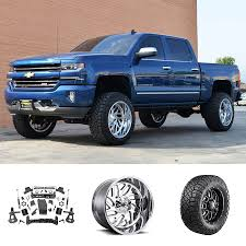100 Chevy Truck Wheels And Tires 2018 Silverado 1500 Z71 22x12 Suspension Package