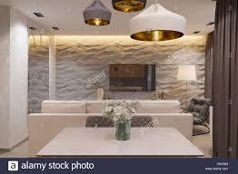 einrichtung im skandinavischen stil wohnzimmer 3d