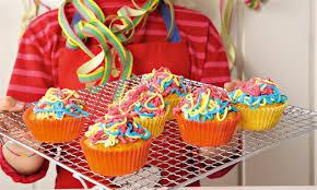 Rezept Luftschlangen Cupcakes Fur Kinder