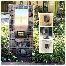 100 Letterbox Design Ideas Highest Quality Gabion Range Proudly Australian