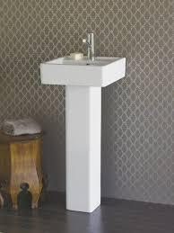 Kohler Bancroft Single Hole Pedestal Sink by Kohler Tresham Ceramic Pedestal Combo Bathroom Sink With 8 In