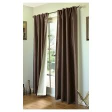 thermalogic rod pocket curtain liner ming lined back tab pocket top curtain panel 104x95