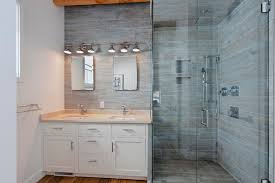 dining room table center wood look tile bathroom shower