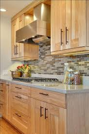 Kitchen Remodeling Ideas Hickory Cabinets With Built Up Crown Molding And A Painted Glazed Beadboard Backsplash Help Create Period Look Desc