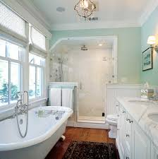 Bathroom Beadboard Wainscoting Ideas by Good Looking Anaglyptain Bathroom Victorian With Exquisite Tiled
